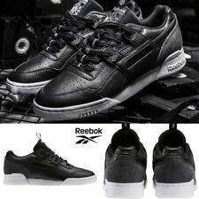 92d361f23f9395 Reebok Classic Workout Plus It Shoes SNEAKERS Black White BS6213 Sz US Men 6