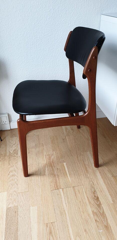 Spisebordsstol, Palisander, Erik – dba.dk – Køb og Salg af