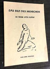 Uwe Steffen: Das Bild des Menschen im Werk OTTO FLATH - signiert von 1961