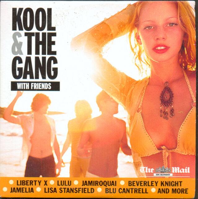 KOOL & THE GANG WITH FRIENDS - PROMO CD (2006) LIBERTY X, LULU, TONY HADLEY ETC