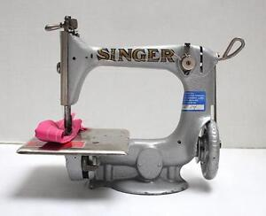 vintage singer chainstitch sewing machine