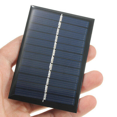 6V 0.6W Solar Panel DIY Small Charger For Light Battery Phone Portable