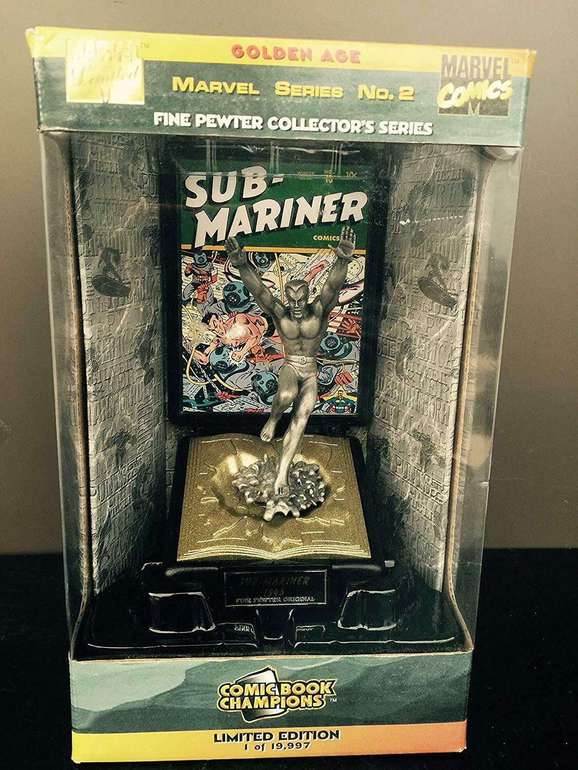Marvel Golden Age Sub-mariner Fine Pewter Collector Series Figure