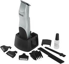 Wahl 9906-2017 Silver Groomsman Battery Operate Beard Moustache Hair Trimmer Set