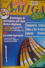 Amiga - Das Computermagazin 10/95 1995 (Daten-Highway)