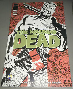 WALKING DEAD #1 Image Comics 2015 Wizard World New Orleans Variant