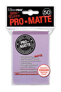 600-12pk-ULTRA-PRO-Pro-Matte-Deck-Protector-Card-Sleeves-Magic-Standard-Lilac