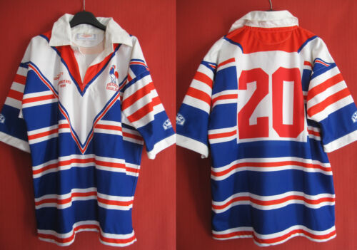 rugby shirt 13 Franch m University Worn 1994 vintage 46 XL