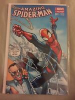 MARVEL AMAZING SPIDER MAN #1 EXCLUSIVE STAN LEE HUMBERTO RAMOS COLOR VARIANT