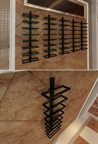 Iron Wall Mounted Wine Holder European-style Tilted//Straight Wine Rack Red Wine