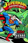 Superman Adventures: Men of Steel by Paul Dini (Hardback, 2012)