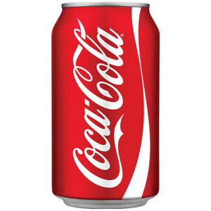 Modern Coca-Cola Can Decal 13 x 24 Coke Kitchen Decor Peel and Stick Graphic