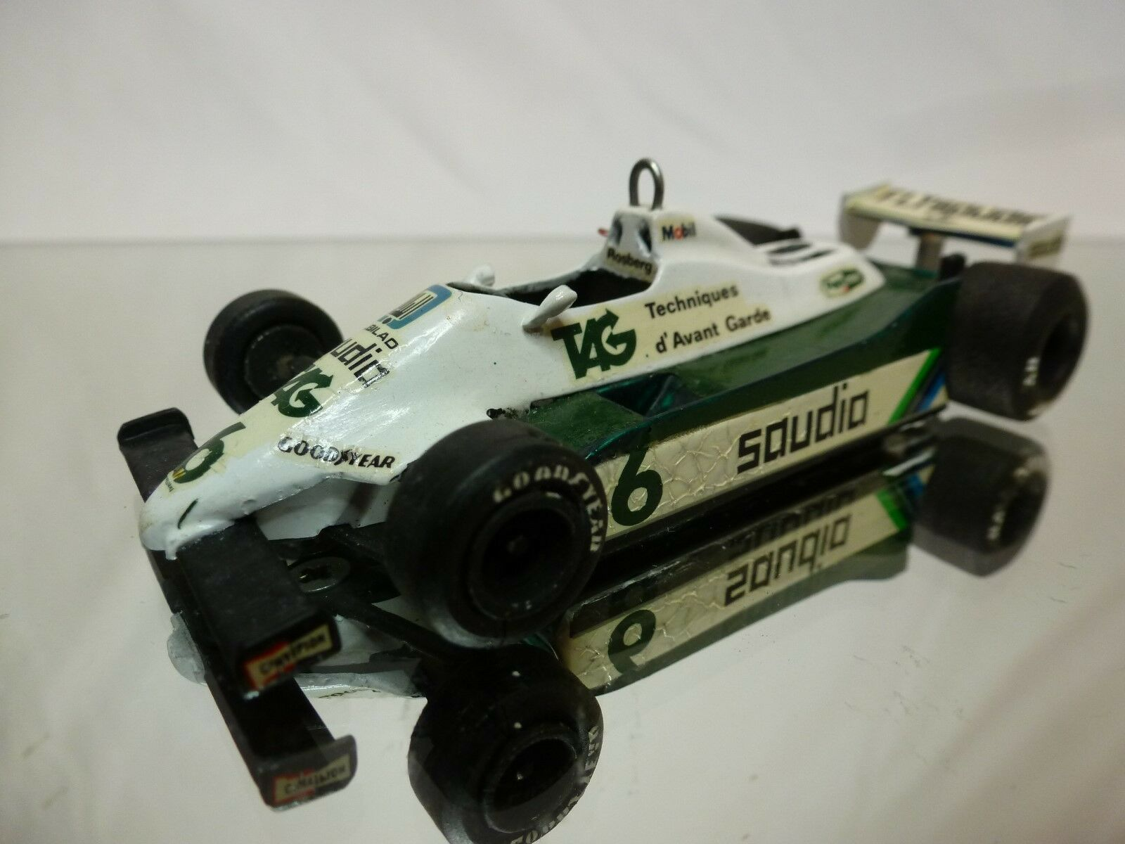 WESTERN MODELS  KIT (built) - WILLIAMS FW07C TAG  FORMULE 1  1 43 NICE CONDITION