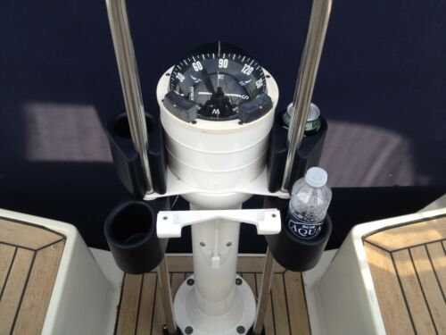 Bootsteile & Zubehör Ocean Dosen-/Flaschenhalter für die Yacht 22-26mm Rohrbefestigung blau