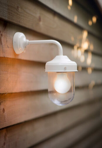 NEW GARDEN TRADING BARN LIGHT OUTDOOR PATIO WEATHERPROOF WALL LIGHT CHALK