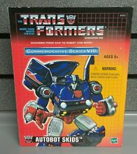 Transformer Auotbot Skids | Commemorative Series VIII | Gen 1 | NEW | SHIPS Fast