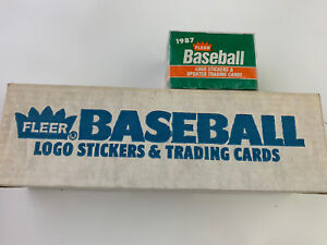 1987-FLEER-BASEBALL-CARD-Factory-SET-UNSEARCHED-Plus-Sealed-Traded-Set