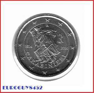 ITALIE - 2 € COM. 2014 UNC - 200e VERJAARDAG STICHTING CARABINIERI