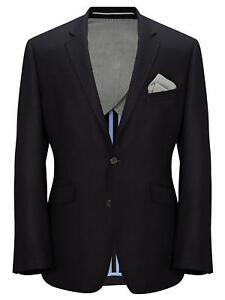 Lewis Wool 42r Rrp Basket Size John Weave Tailored Navy £175 Jacket 6THqp