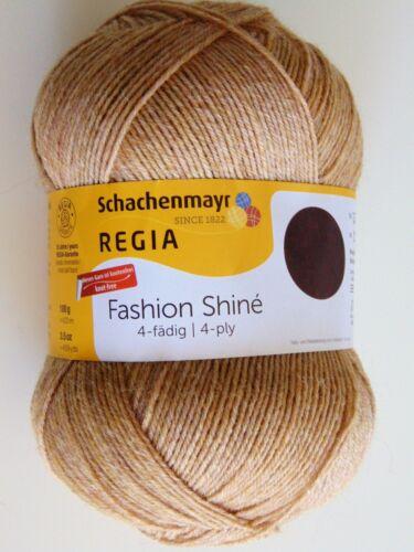 4-fädig Schachenmayr 100g FASHION SHINE REGIA Sockenwolle