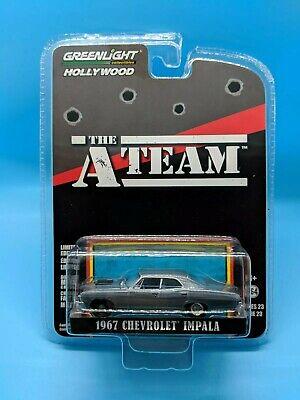 "The A-Team 1967 Chevrolet Impala /""a Team *** GreenLight 1:64 nuevo"