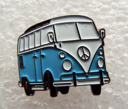 Volkswagon VW Pale Blue /& White Split Screen Camper Van enamel magnet