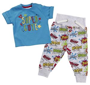 BABY BOY Super Hero Cartoon inspired 2 piece set