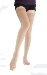 1984e5e4a Image is loading New-FDA-Approved-Opaque-Thigh-High-Compression-Stockings-