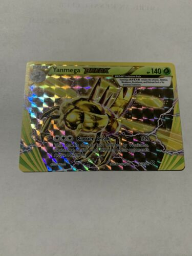 NM Pokemon YANMEGA BREAK Card STEAM SIEGE Set 8//114 XY X and Y Ultra Rare Holo