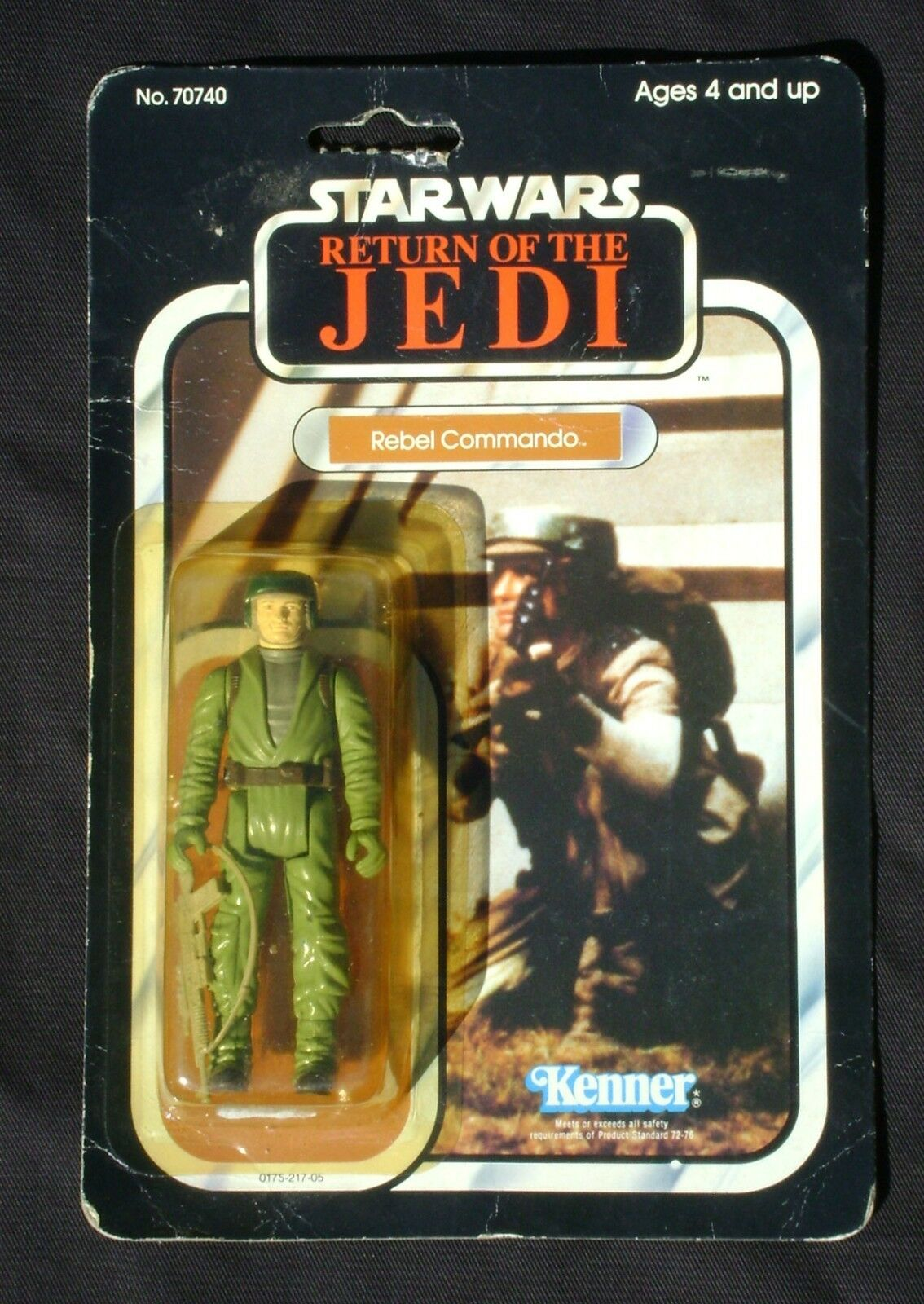 servicio honesto Estrella Wars rojoj Rebel Commando Perfecto En Burbuja Sellado Sellado Sellado Vintage 1983 Kenner 77-b  venta directa de fábrica