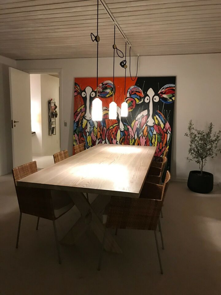 Spisebordsstol, Stof & flet, Axelsen