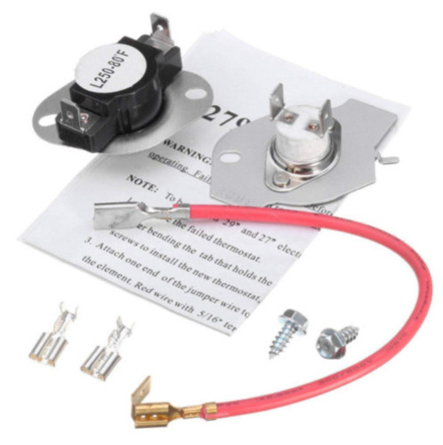 Heating Element Kit Thermostat Fuse Kenmore Dryer 90 Series Elite HE3 Whirlpool