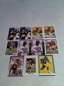 Aaron-Cox-Lot-of-85-cards-14-DIFFERENT-Football