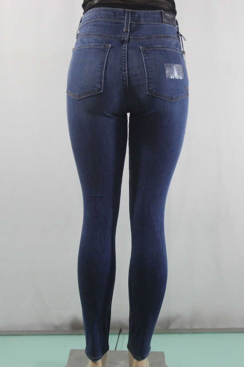202 Fidelity NEW Women's Gwen High Waist Skinny Jeans, Hight Skinny SZ 31 bluee