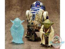 1/10 Scale Dagobah Yoda & R2-D2 ArtFX+ Set by Kotobukiya