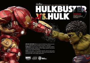 Beast Kingdom Œuf Attack021 Hulkbuster Contre Hulk Avengers Age Of Ultron