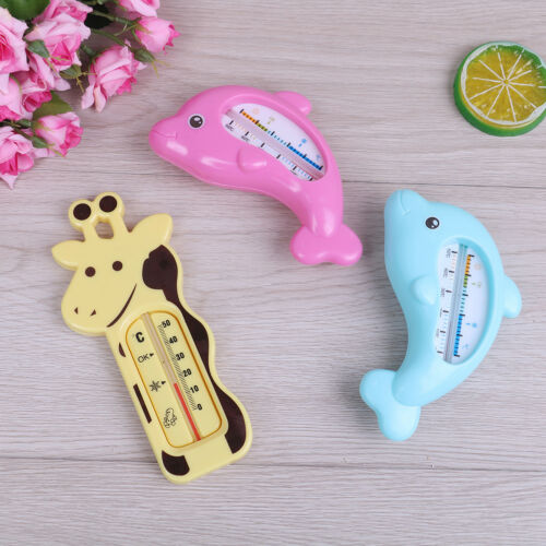 1Pc Baby water temperature tester infant bath tub dolphin shape thermometer FEH