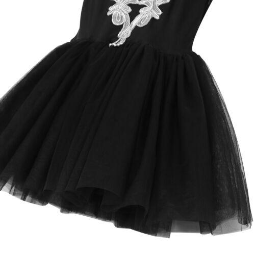 Womens Tutu Dress Ballerina Ballet Dance Costume Sequined Skirt Leotard Unitard