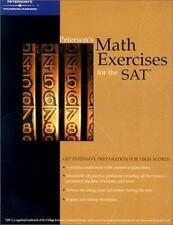 Peterson's Math Exercises for SAT (Academic Test Preparation Series)