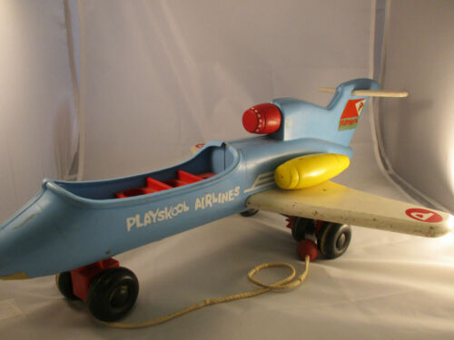 Little People Pull Toy Airplane