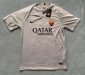 559e385a25b6 Francesco Totti AS Roma Soccer Team - New Men s Away Silver Soccer ...