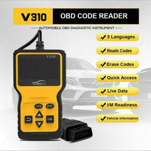 Ford KA OBD2 Code Reader Engine Fault Read Reset Car Scanner Tool V310 NEW 2019