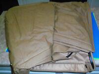 K Line Top Supertop Polymer Cloth Tan / Spice Denim Jeep Cj7 Wrangler Soft Top