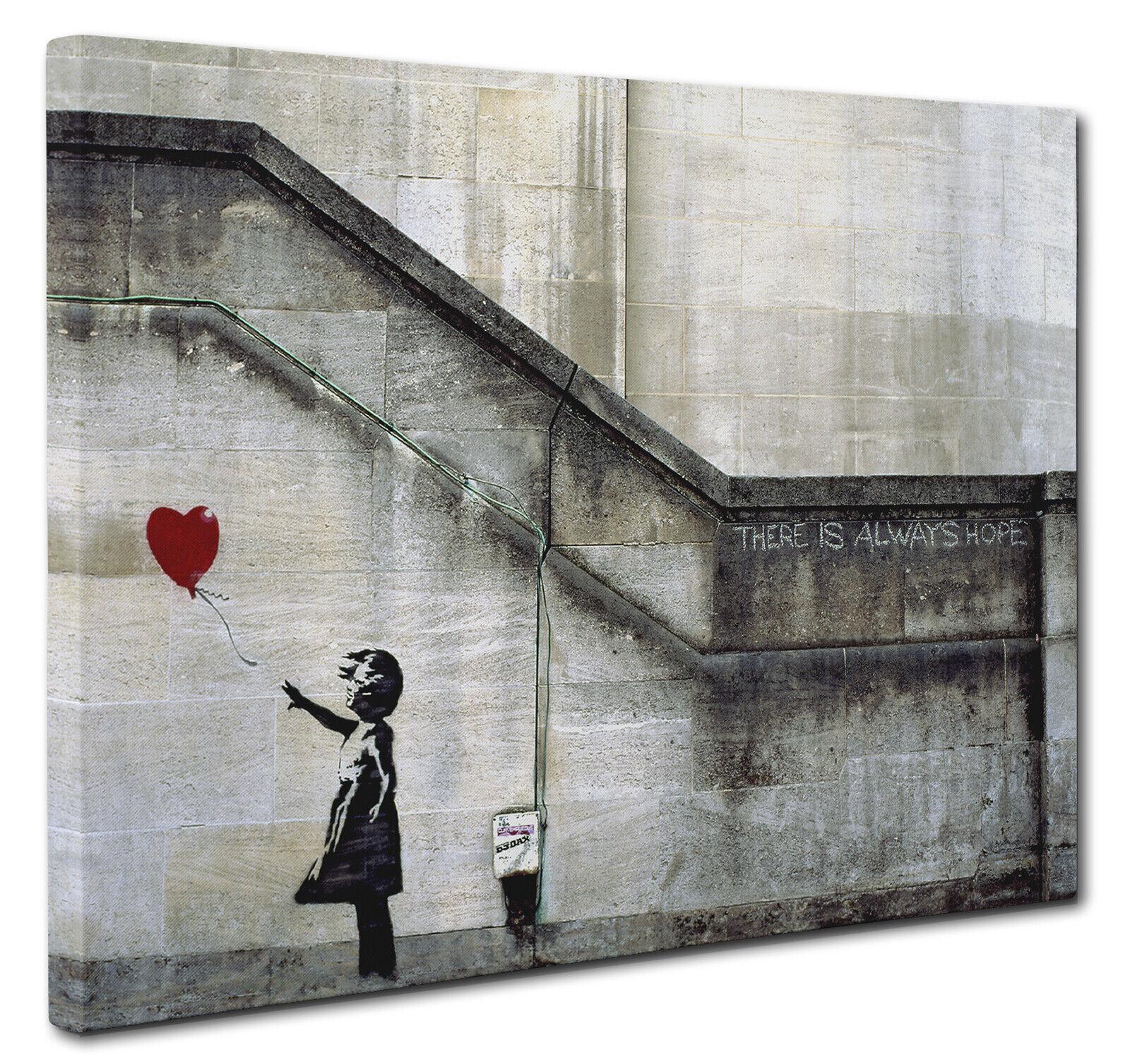 Canvas Banksy British Bulldog Wall Art Print Large or Small Picture a1 a2 Grey