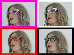Grease-Pink-Ladies-Glasses-50-039-s-Style-Novelty-Fancy-Dress-Hen-Party-Night