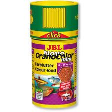 JBL NovoGranoColor mini Click 100ml Novo Grano Color Fish Food Colour Enhancer