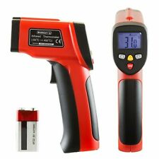 Stalwart No Contact Digital Infrared Laser Thermometer Surface Temps