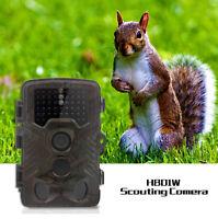 Waterproof Trail Camera Outdoor Security Cam Motion Activated Ir No Spy Hidden