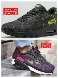 pretty nice 1d3a0 a5ed4 Image is loading BNIB-New-Women-Nike-Air-Max-90-Jacquard-