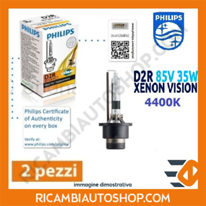 2 LAMPADINE XENON D2R PHILIPS SCANIA PGRT SERIES R 340 KW:250 2004/>